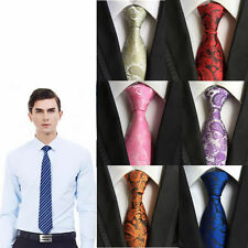 Wedding Necktie Silk Tie Scarves Jacquard Woven Slim Fashion Men's Classic