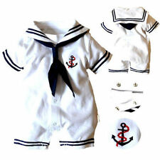 Newborn Baby Costume  Romper  Outfits Hot Boys Girls Sailor  Bodysuit