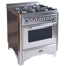 """NEW ILVE Majestic 30"""" Dual Fuel Range in Stainless Steel :)"""