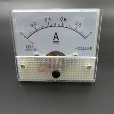 DC 0-1A Analog Amp Meter Ammeter Current Panel New ! ! !