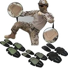 Tactical Combat Elbow & Knee Pads Airsoft Paintball For FROG Combat Uniform Suit
