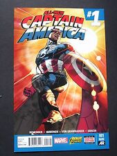 All-New Captain America #1 2nd Print Variant  2015 NM High Grade Marvel Comic