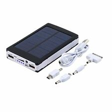 8000mAh Portable Super Solar Charger Dual USB External Battery Power Bank MC