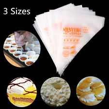 100pcs Disposable Pastry Bag Icing Piping Cake Pastry Cupcake Decorating Bags