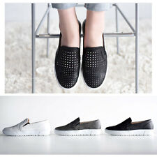 New SN147 Cool Punching Mens Slip On Sneakers Skate Trainers Loafer Casual Shoes