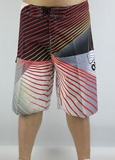 Men's Quiksilver BoardShorts Quick-Dry Black, Grey and Red Sizes: 30 - 38