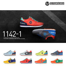Paperplanes PP1142-1 Mens Athletic Training Running Shoes Trainer Style Sneakers