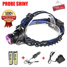 6000LM CREE XM-L T6 LED Headlamp Headlight Flashlight Head Lamp+Battery+ Charger