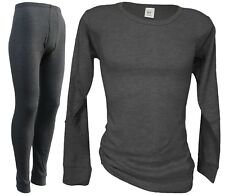 Winter Sports Base Layer - MENS Thermal Ski Underwear Set  - Long John + Shirt !