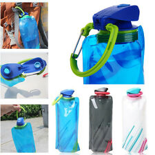 Hot Sale Portable Sports Water Bottle  Foldable Outdoor Sport Portable Water Bag
