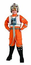 STAR WARS X-Wing Pilot Luke Skywalker BOYS Costume Kids Youth Child Size S,M,L