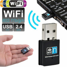 150/300Mbps Mini USB WiFi Wireless Adapter Dongle Network LAN Card 802.11n/g/b T