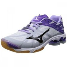 MIZUNO Volleyball Shoes Wave Lightning Z MID V1GA1500 White X Black X Lavender