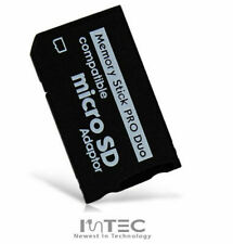 NEW - Micro SD to PRO DUO Memory Stick Adapter for PSP 1003 2003 2004 3003 3004