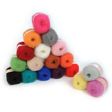 Quality Wholesale 1pc Natural Smooth Angola  Mohair  Wool Knitting Yarn  Home