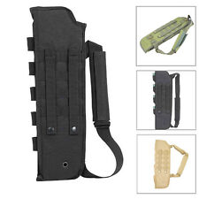 Tactical Breacher's Hunting Short Barrel Shotgun Scabbard Molle With Shell Pouch