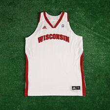 Wisconsin Badgers ADIDAS NCAA Authentic Game Issued Pro Cut Home Jersey Women's