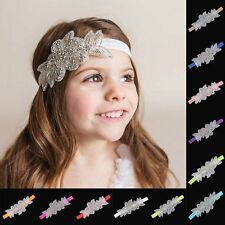 Baby Girl's Princess Headband Flower Hair Accessories Elastic Hair Band Headwear