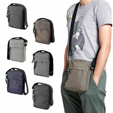 Mens Travel Messenger Bag Shoulder Bag Crossbody Handbag Small Bag Briefcase