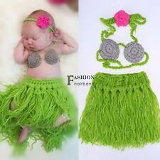 Newborn Boy Girl Baby Crochet Knit Costume Photography Photo Prop Outfit FNHB