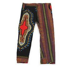 African Handmade Dashiki Draw String Trousers  African Hippie Vintage Tribal
