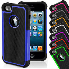 Shock Proof Outer Box Rubber Hybrid Matte Hard Case Cover For Apple iPhone
