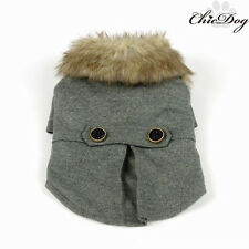 Pet Dog Soft Winter Warm Coat Jacket Puppy Clothes Clothing Cat Apparel