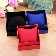 New Gift Boxes Case For Bangle Jewelry Ring Earrings Wrist Watch Box ~