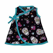 Punk Fiesta Sugar Skull Day of the Dead Toddler Baby Girl Dress Pants Clothes