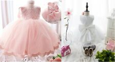 Baby Flower Girl Princess Dress Wedding Party Formal Bridesmaid Gown Prom Dress