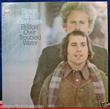 SIMON AND GARFUNKEL BRIDGE OVER TROUBLED WATER Vinyl LP UK PRESS, A6 B6
