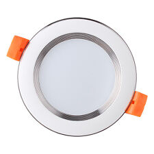 New 5W LED Recessed Ceiling Panel Downlight Spot Light Lamp Bulb Warm Cool White