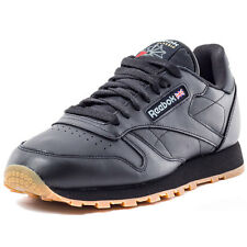 Reebok Classic Mens Trainers Black Gum New Shoes