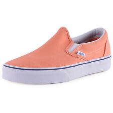 Vans Cso Classic Womens Slip On Orange New Shoes