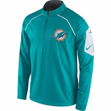 MIAMI DOLPHINS AQUA ALPHA FLY JACKET-NIKE-XL AND 3XL- AUTHENTIC- NWT-RETAIL $155