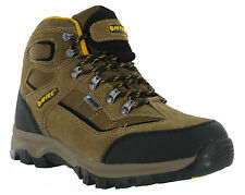New Mens Hi-Tec Hillside Waterproof Walking Hiking Trail Ankle Boots
