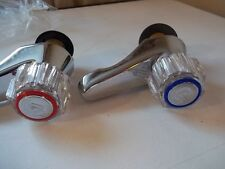 QUALITY CHROME BATH TAPS NEW OLD STOCK