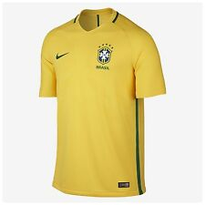 Nike Brazil CBF Home Jersey 2016 Shirt Maillot Trikot Player Issue