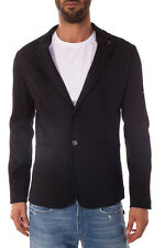 Trussardi Jeans Jacket -45% MADE IN ITALY Man Blacks 52H16E-19 SALE