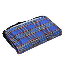 1X Folding Blanket Camping Outdoor Beach Waterproof Backing Picnic Rug Mat BDAU
