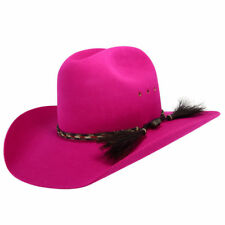 Akubra Rough Rider Hat - Magenta - New Colour!