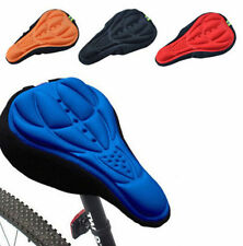 Cushion Soft Bike Saddle Seat 3D Pad Silicone Cycling Bicycle Pad Cover Gel