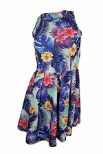 Romeo & Juliet Couture $130 NWT Green Purple Floral Print Dresss Women