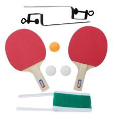 Table Tennis and Ping Pong Racket Bat Two Sides Sponge Long Handle For Child Lot