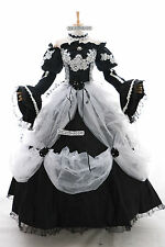 a-265 m/L/XL/XXL MIKU Victorian Cosplay Costume Gothic Prom dress EVENING GOWN