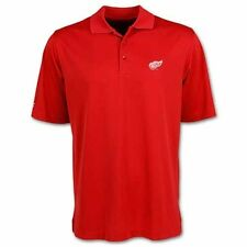 Detroit Red Wings Red Exceed Desert Dry Polo by Antigua