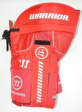 WARRIOR HUSTLER PANTS with VELCROS, Red, New, Pro Ice Hockey Pant