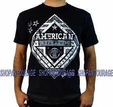 AMERICAN FIGHTER Hillsdale FM3100 Men`s New Black T-shirt By Affliction