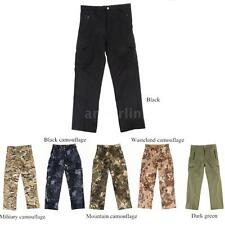 Men Thermal Combat Pants Trousers Hiking & Camping Pants hiking Camping S5T0