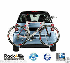 SMART FORTWO 450 451 COUPE CABRIO BIKE BICYCLE - SKI SNOWBOARD RACK - RACK4SMART